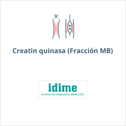 Toma de laboratorio de creatinfosfoquinasa fraccion mb