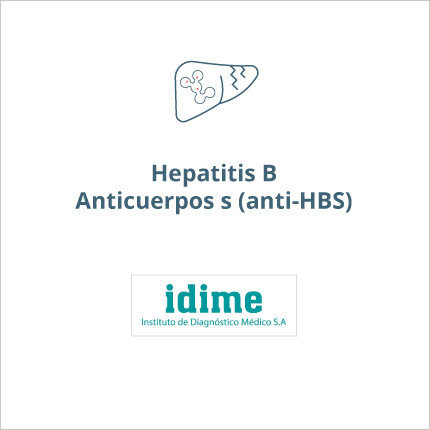 Toma de laboratorio de hepatitis B anticuerpos S [ANTI-HBs]