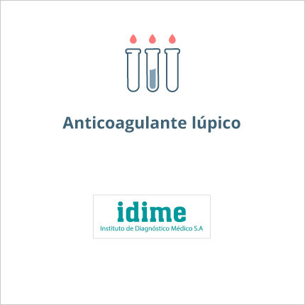 Toma de laboratorio de anticoagulante lúpico