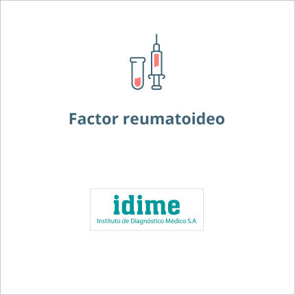 Toma de laboratorio de factor reumatoideo